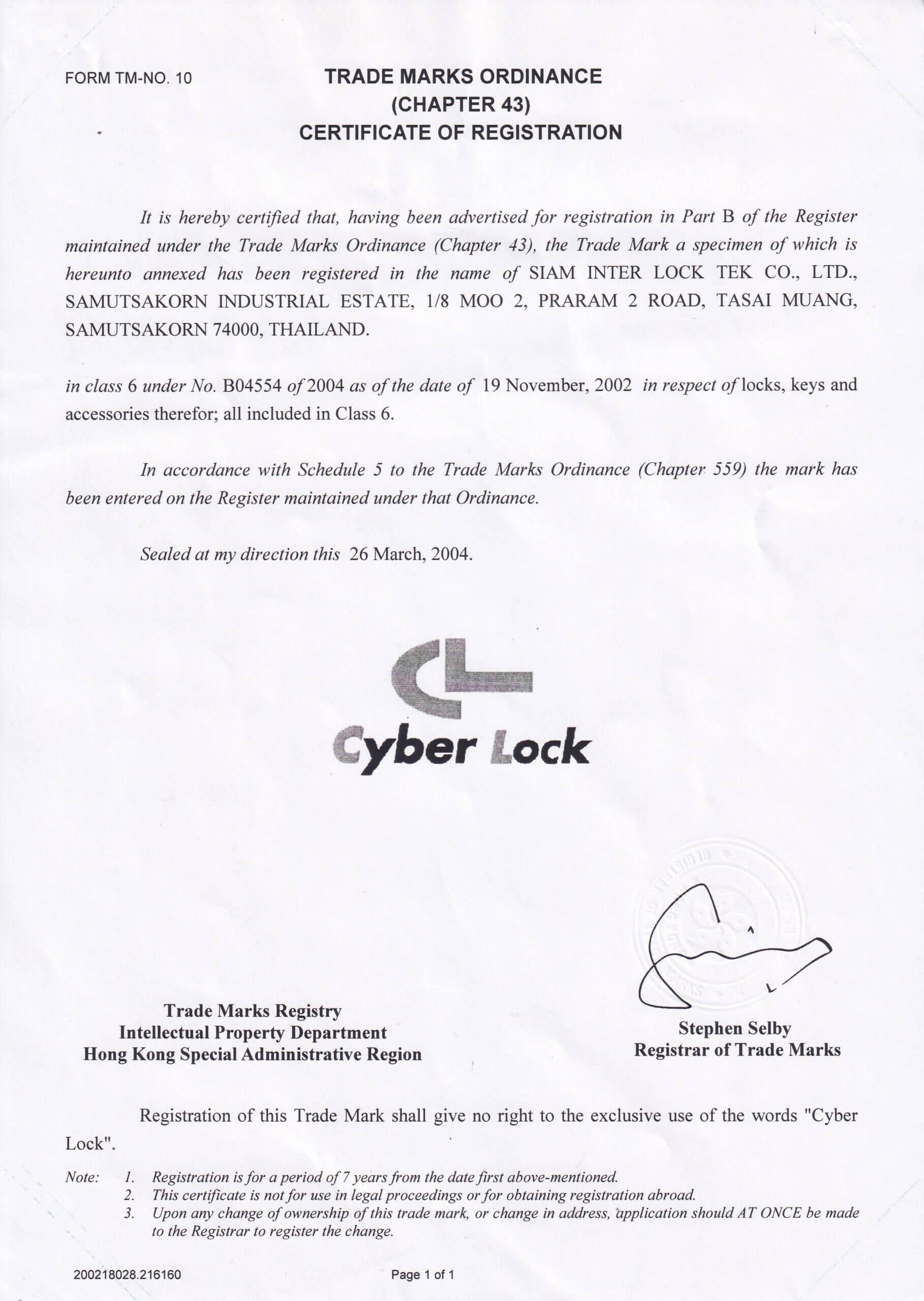 Cyber Lock_Singapore